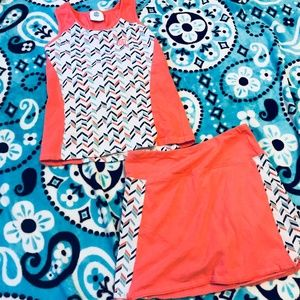 Other - Skort and tank outfit size 10